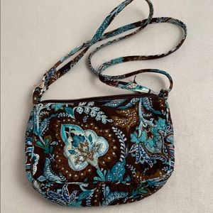 Vera Bradley Java Blue small shoulder/crossbody
